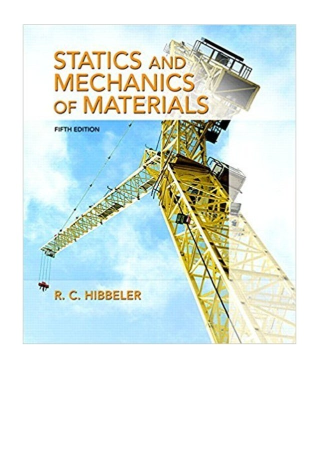 (2016) Statics and Mechanics of Materials (5th Edition