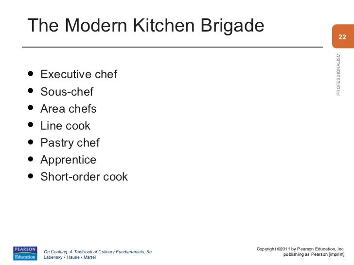 Restaurant Kitchen Hierarchy wonderful restaurant kitchen brigade theauguste escoffier ppt