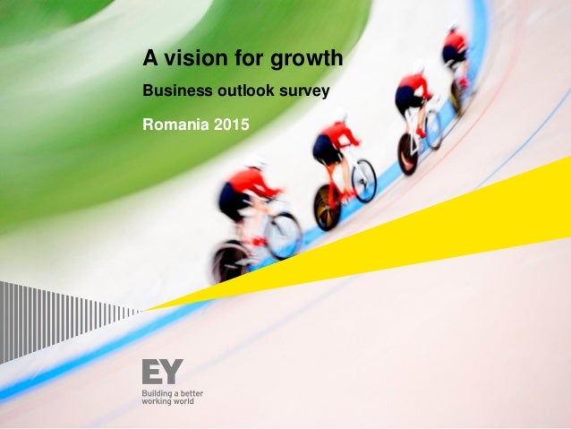 A vision for growth Business outlook survey Romania 2015