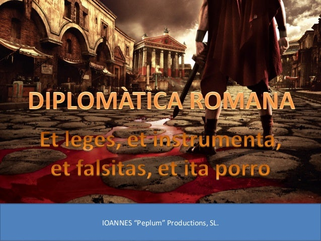 "IOANNES ""Peplum"" Productions, SL."