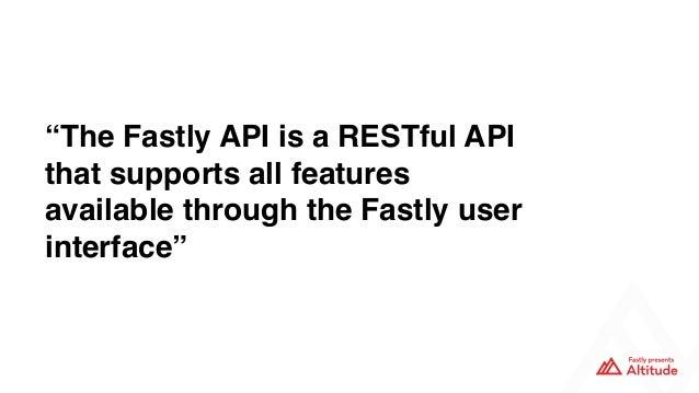 Next-gen API authentication