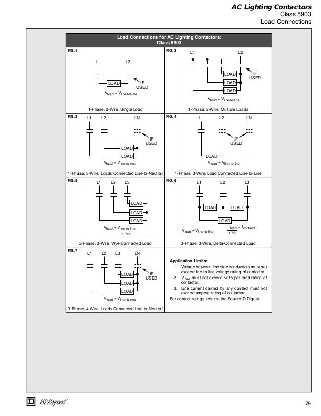 Dorable Wiring D Diagram Square Contactor 8536s Mold - Simple Wiring ...