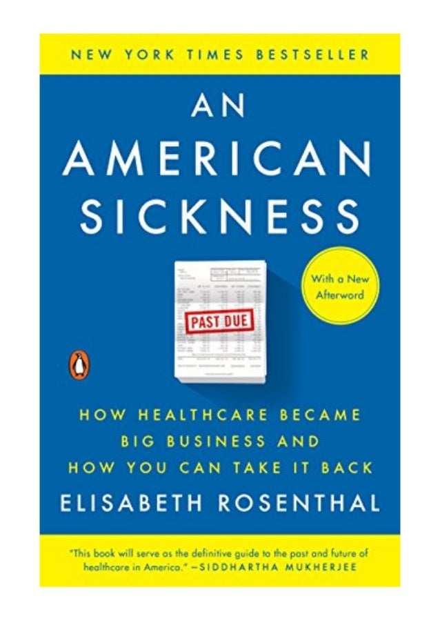 An american sickness book review