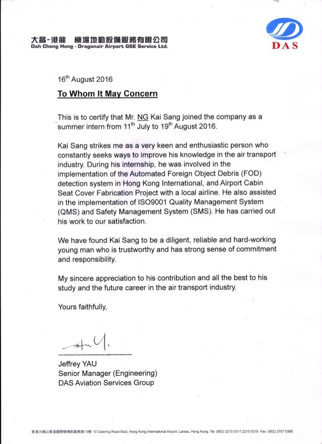 Reference Letter For Company Services from image.slidesharecdn.com