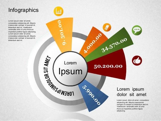 Infographics Lorem Ipsum Lorem ipsum dolor sit amet, consectetur adipiscing elit. Mauris massa erat, semper ut suscipit id...