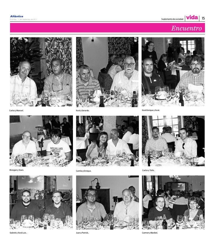 Domingo, 11 de septiembre de 2011                                              Suplemento de sociedad   vida   15         ...