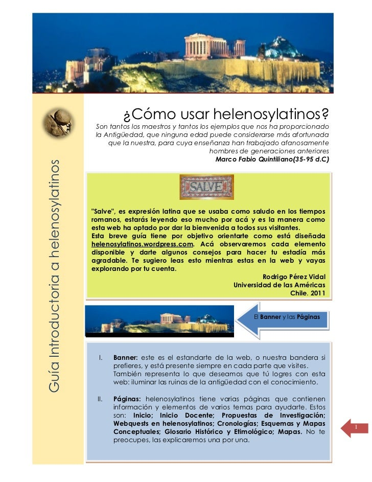 Título de lapágina                                                  ¿Cómo usar helenosylatinos?                           ...