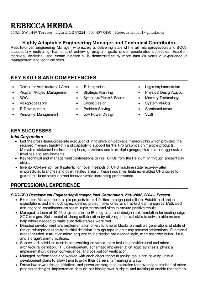 highly adaptable resume