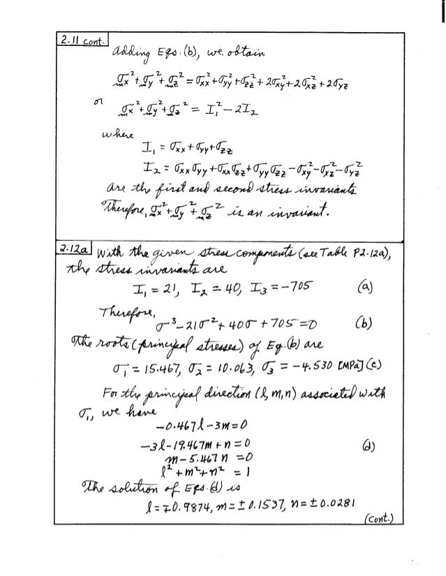 016 advancedmechanicsofmaterials6theditionsolutionsmanual boresi 0471 rh slideshare net Math Solution Manual Test Bank Solutions Manual