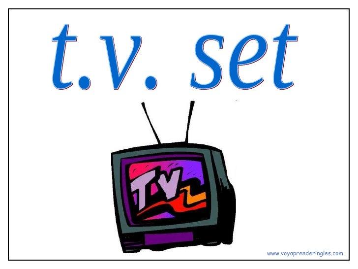 t.v. set www.voyaprenderingles.com