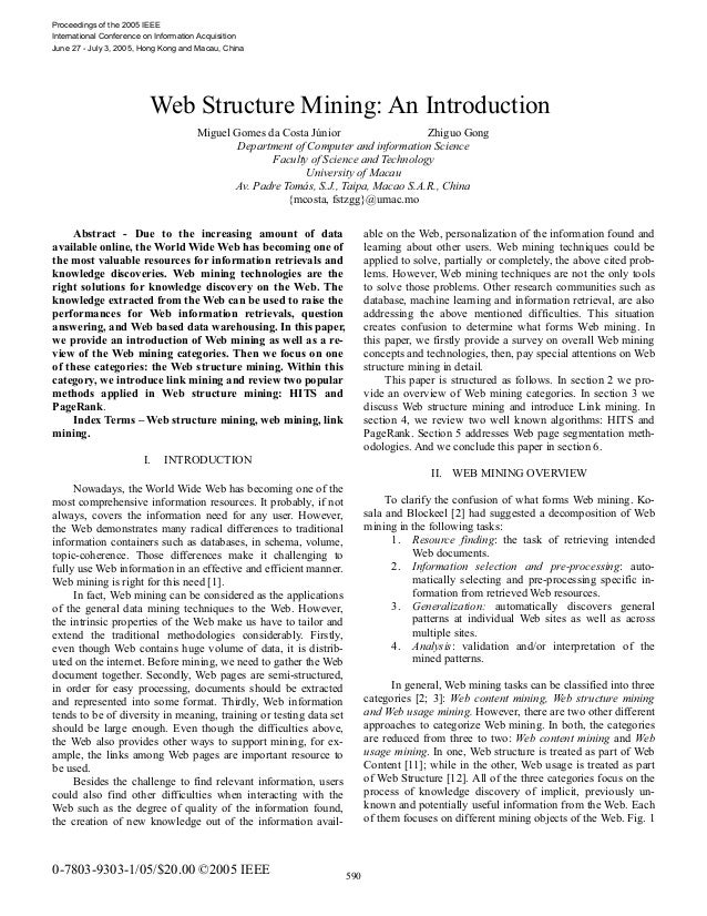 Proceedings of the 2005 IEEE International Conference on Information Acquisition June 27 - July 3, 2005, Hong Kong and Mac...