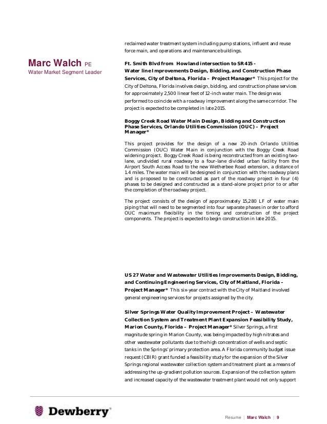 Magnificent Wastewater Engineering Resume Elaboration ...