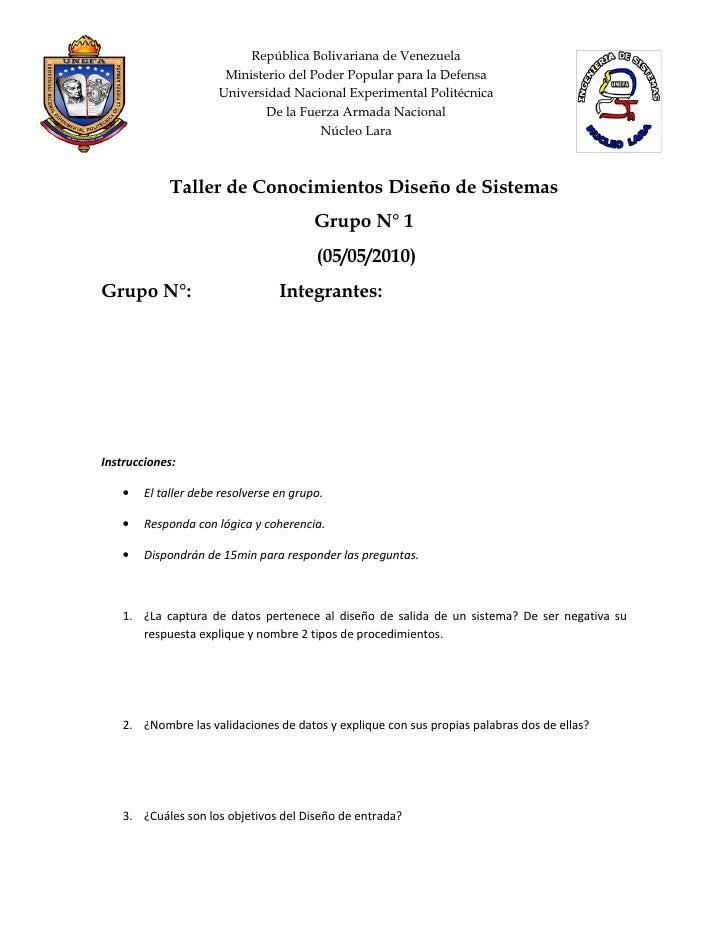 República Bolivariana de Venezuela                        Ministerio del Poder Popular para la Defensa                    ...