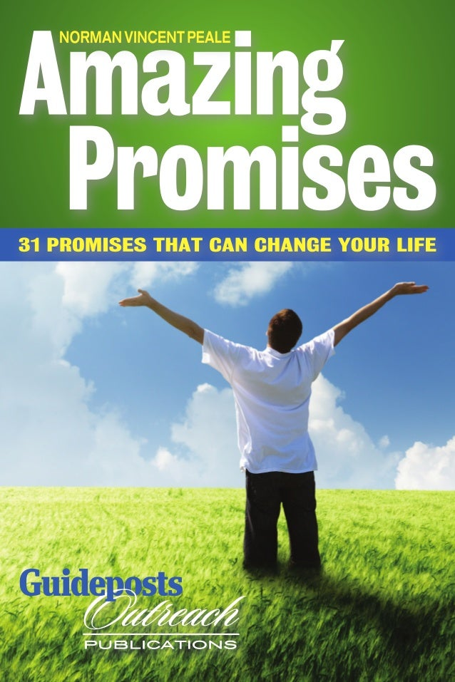 How to use AMAZING  PROMISES in your life! This booklet contains some of the most wonderful promises ever made. And they...
