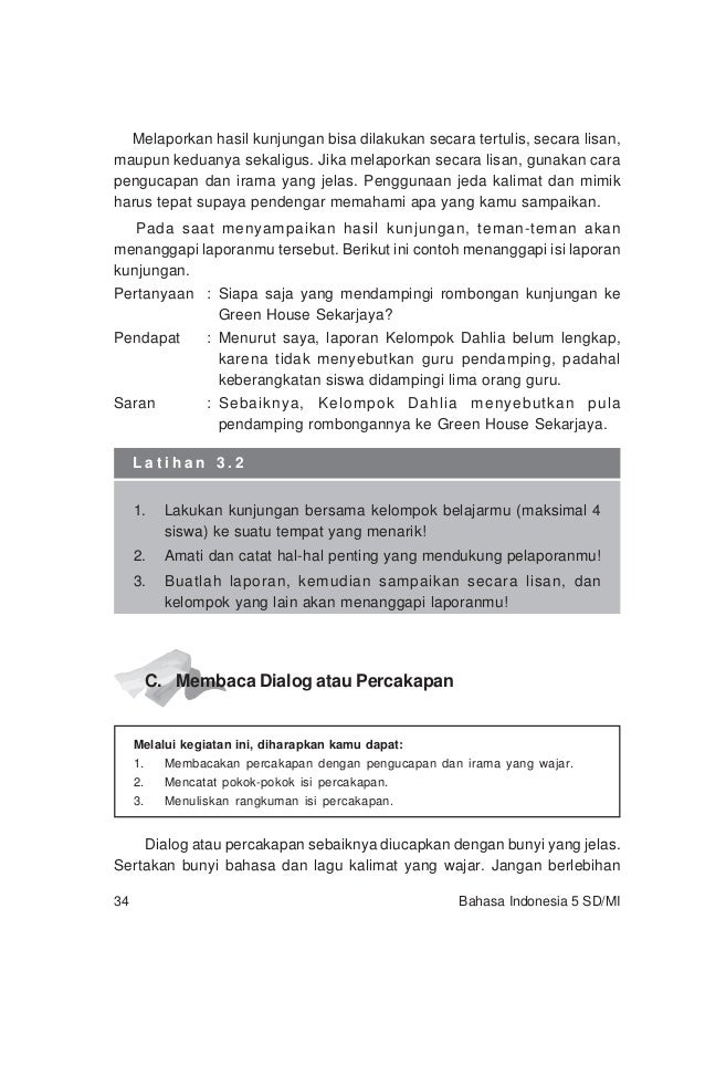 018 Bahasa Indonesia Sd Kls 5