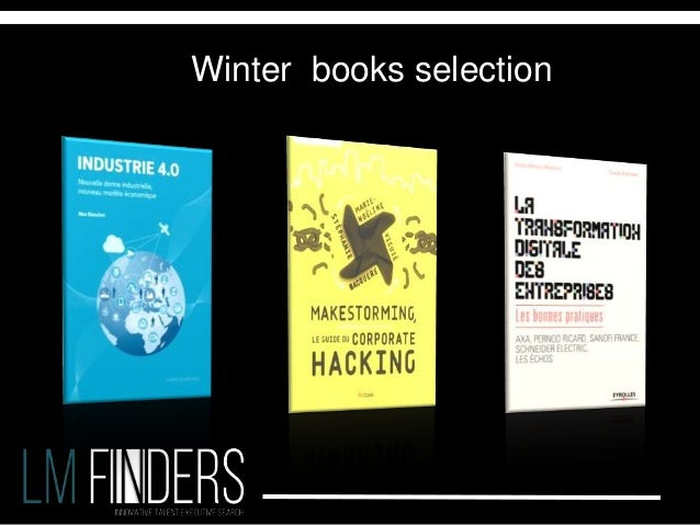 Winter books selection