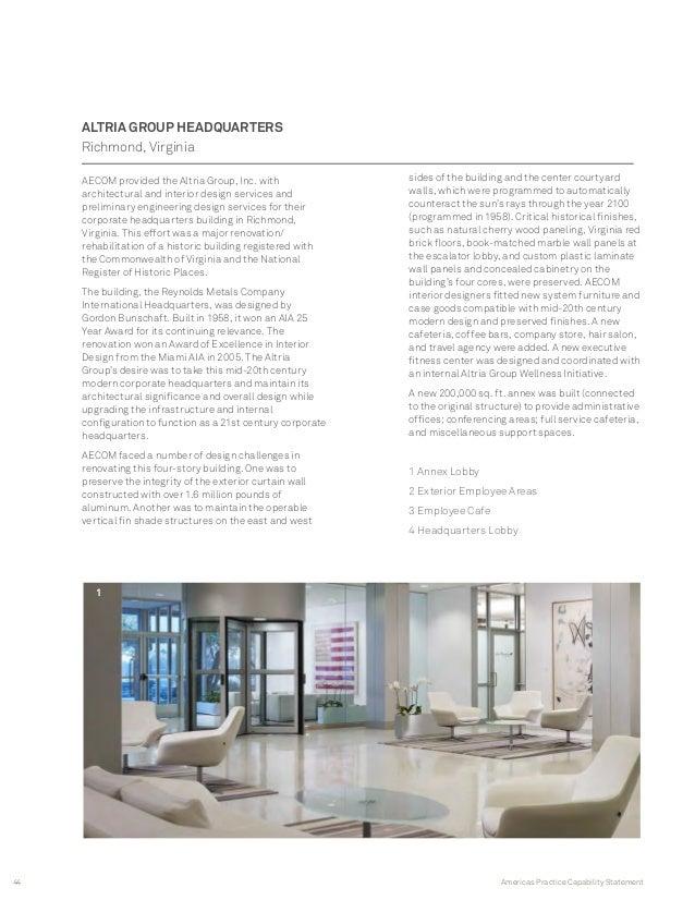 AECOM Buildings Places NYC Metro Brochure
