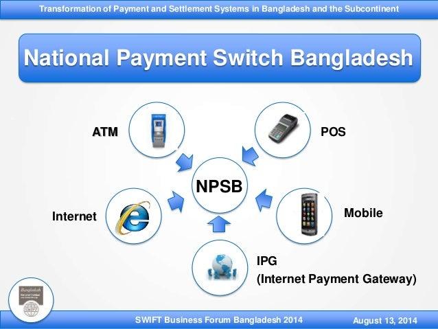 Internet payment gateways and schemes