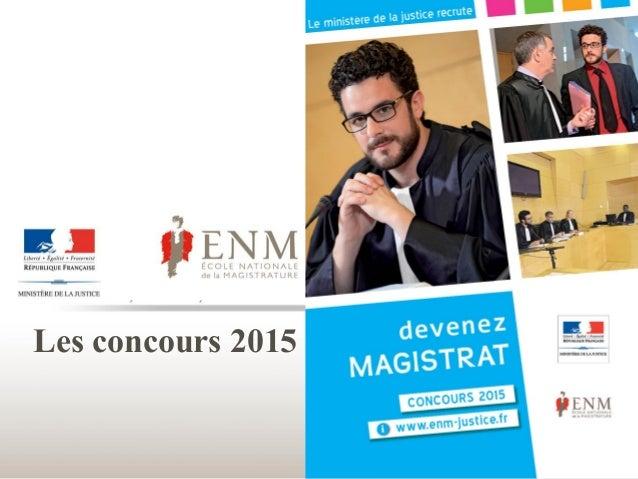 Les concours 2015