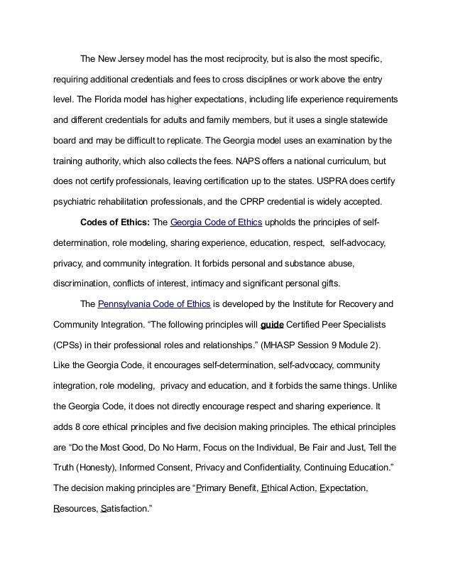 Mhpc Certification Report