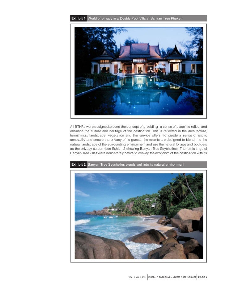 banyan tree case study Banyan tree luxury hotels and resorts are a sanctuary for the senses, offering unique and modern accommodations across the world find your dream destination.