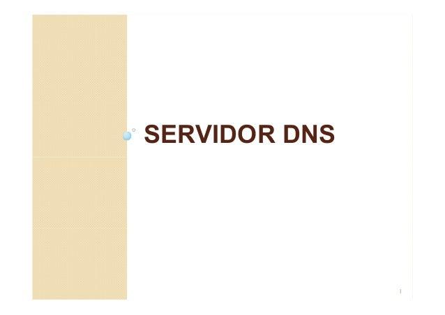 SERVIDOR DNS 1