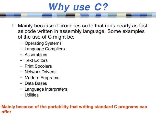 the c programming language and its history 2018-4-24  why is c programming language called c  history of c language  (basic combined programming language) its name.