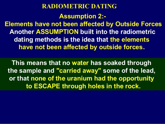 Why is radiometric hookup not accurate