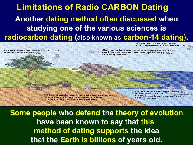 What are the limitations of radiocarbon hookup