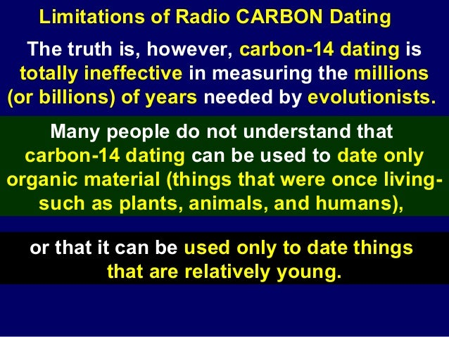 god and carbon dating