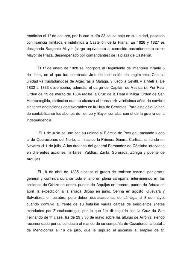 rendición el 1º de octubre, por lo que el día 23 causa baja en su unidad, pasando con licencia ilimitada e indefinida a Ca...