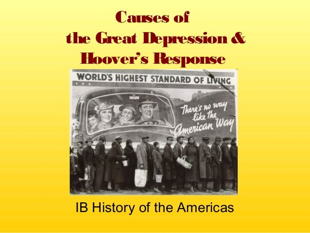 ib history the great depression Thinking of creating a website google sites is a free and easy way to create and share webpages.