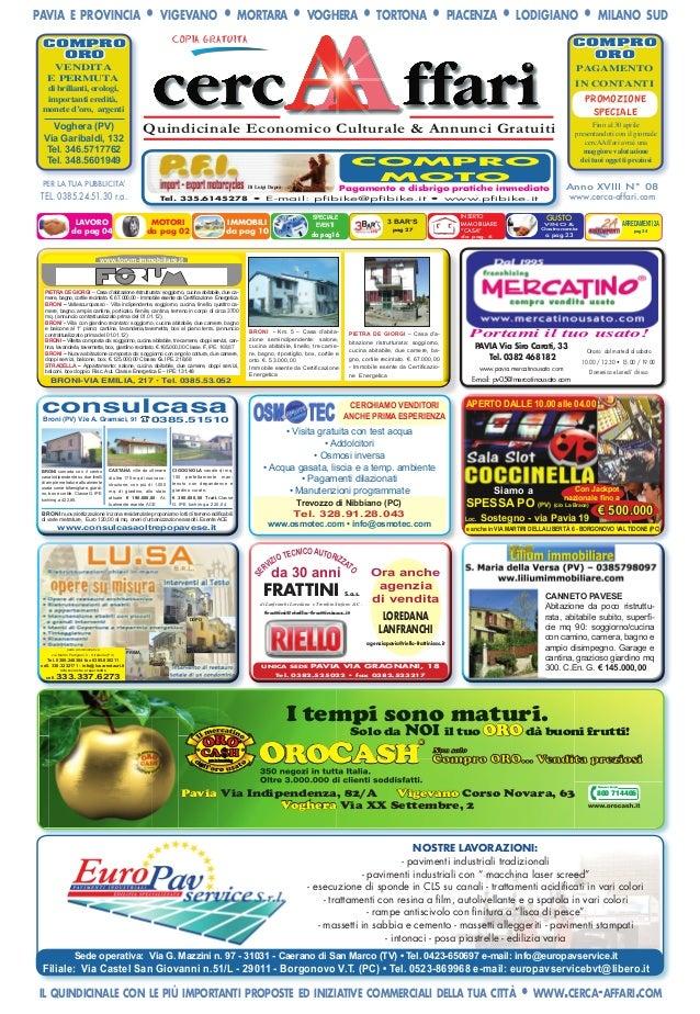 cercAAffari prima pagina Edizione 8 2012 cerca