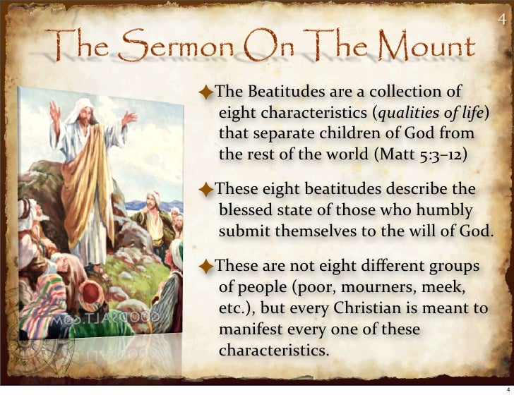 the beatitudes essay