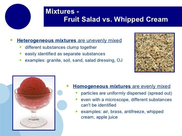 Classifying matter for Soil homogeneous or heterogeneous