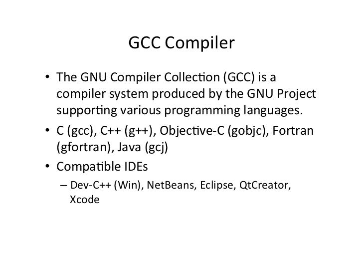 Intro To C Language