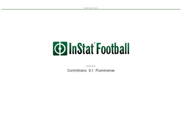 Brazil. Serie A, 2012  20.05.2012  Corinthians 0:1 Fluminense