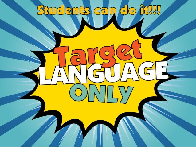 language education and target language Bilingual education and second language immersion programs have operated   the target language for large blocks of time) play an important role within both.