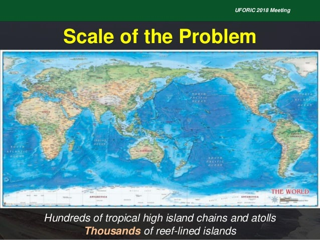 Introduction Flooding on Reef-lined Island Coasts UFORIC Slide 3
