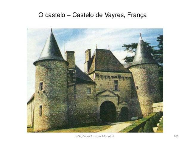 O castelo – Castelo de Vayres, França HCA, Curso Turismo, Módulo 4 165