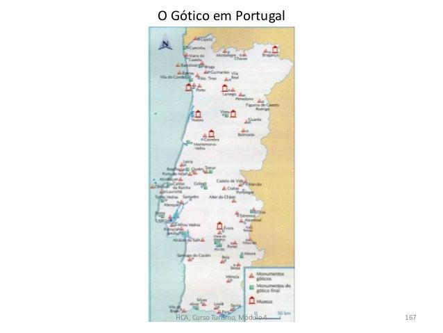 O Gótico em Portugal HCA, Curso Turismo, Módulo 4 167