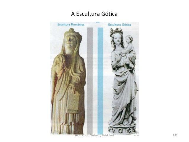 A Escultura Gótica HCA, Curso Turismo, Módulo 4 181