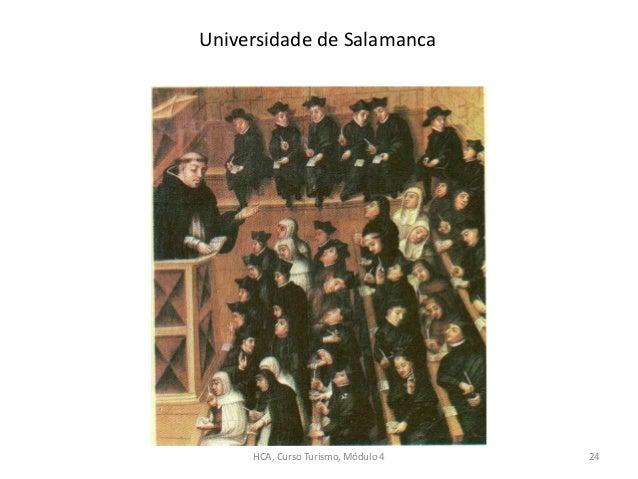 Universidade de Salamanca HCA, Curso Turismo, Módulo 4 24