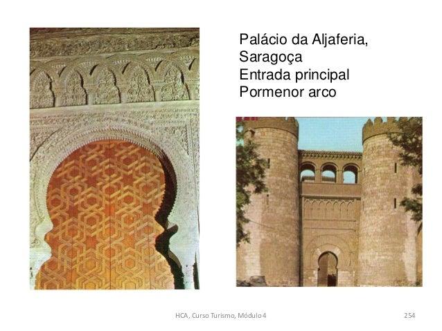 Palácio da Aljaferia, Saragoça Entrada principal Pormenor arco HCA, Curso Turismo, Módulo 4 254