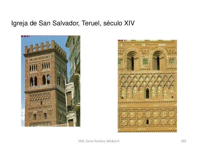 Igreja de San Salvador, Teruel, século XIV 263HCA, Curso Turismo, Módulo 4