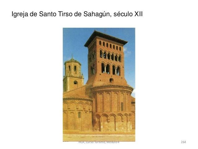 Igreja de Santo Tirso de Sahagún, século XII 264HCA, Curso Turismo, Módulo 4