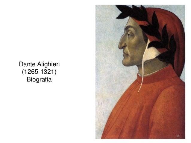 Dante Alighieri (1265-1321) Biografia 57