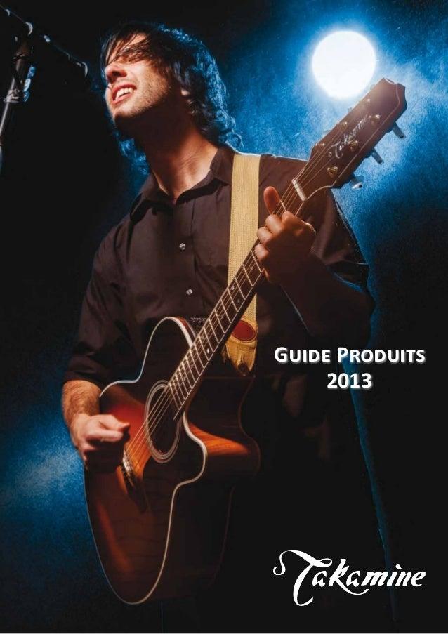 1 Guide Produits 2013