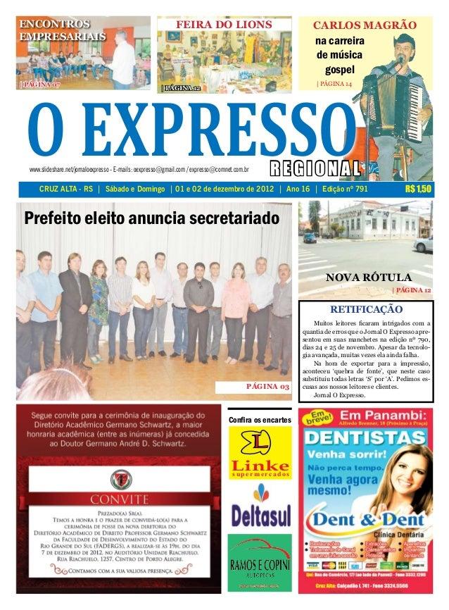 ENCONTROS                                                     FEIRA DO LIONS                                 CARLOS MAGRÃO...