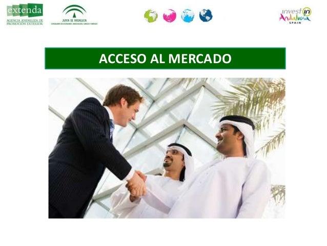 Necesidad de socio local • REGLA DE ORO DEL 51%-49%. Necesidad de socio local. • Requisito para la importación y el acceso...